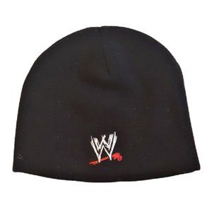 WWE Rey Mysterio Black Stitched Beanie Cap